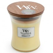 WoodWick Lemongrass & Lily Medium Jar Candle