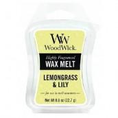 WoodWick Lemongrass & Lily Wax Melt