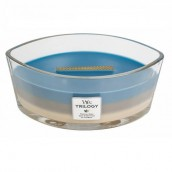 WoodWick Nautical Escape Trilogy Hearthwick Ellipse Candle