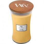 WoodWick Oat Flower Large Jar Candle