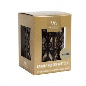 WoodWick Petite Candle Holder Gift Set _ Fireside