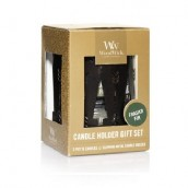 WoodWick Petite Candle Holder Gift Set _ Frasier Fir