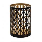 WoodWick Petite Candle Holder Geometric