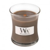 WoodWick Sand & Driftwood Mini Jar Candle