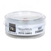 WoodWick Soft Chambray Petite Candle
