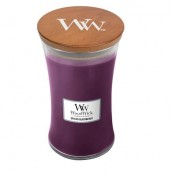 WoodWick Spiced Blackberry Large Jar Candle