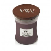 WoodWick Spiced Blackberry Medium Jar Candle