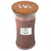 WoodWick Stone-Washed Suède Large Jar Candle
