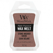 WoodWick Stone-Washed Suède Wax Melt