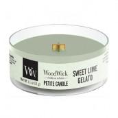 WoodWick Sweet Lime Gelato Petite Candle