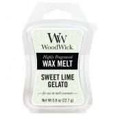 WoodWick Sweet Lime Gelato Wax Melt
