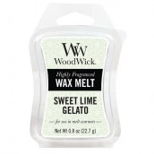 WoodWick Sweet Lime Gelato Wax Melt