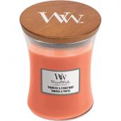 WoodWick Tamarind & Stonefruit Medium Jar Candle