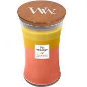 WoodWick Tropical Sunrise Large Jar Candle