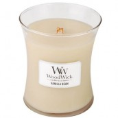 WoodWick Vanilla Bean Medium Jar Candle