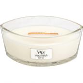WoodWick White Teak Ellipse Hearthwick Jar Candle