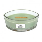 WoodWick White Willow Moss Ellipse Hearthwick Jar Candle