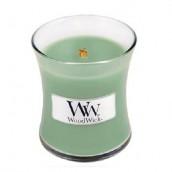 WoodWick White Willow Moss Mini Jar Candle