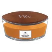 WoodWick Caramel Toasted Sesame Ellipse Hearthwick Jar Candle