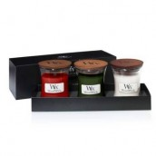 WoodWick Deluxe 3 x Mini Candle Gift Set Autumn/Winter