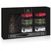WoodWick Deluxe 6 x Petite Candle Holder Gift Set Autumn/Winter