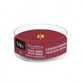WoodWick Elderberry Bourbon Petite Candle