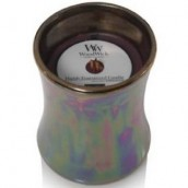 WoodWick Floral Night Collection Dark Poppy Mini Hour Glass Candle