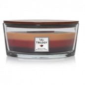 WoodWick Holiday Cheer Trilogy Ellipse Hearthwick Jar Candle