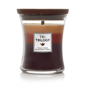 WoodWick Holiday Cheer Trilogy Medium Jar Candle