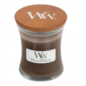 WoodWick Sueded Sandalwood Mini Jar Candle