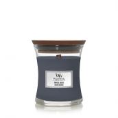 WoodWick Indigo Suede Mini Jar Candle