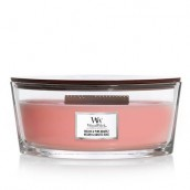 WoodWick Melon & Pink Quartz Ellipse Hearthwick Jar Candle