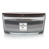 WoodWick Mountain Air Trilogy Ellipse Hearthwick Jar Candle