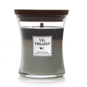 WoodWick Mountain Air Trilogy Medium Jar Candle