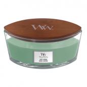 WoodWick Sage & Myrrh Ellipse Hearthwick Jar Candle