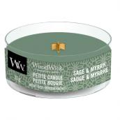 WoodWick Sage & Myrrh Petite Candle