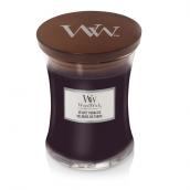 WoodWick Velvet Tobacco Medium Jar Candle