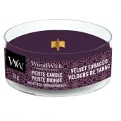 WoodWick Velvet Tobacco Petite Candle