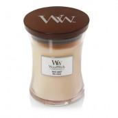 WoodWick White Honey Medium Jar Candle