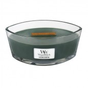 WoodWick Evening Bonfire Ellipse Hearthwick Jar Candle
