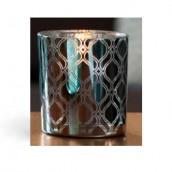 Yankee Candle Savoy Votive Holder - Blue Pattern