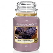 Yankee Candle Dried Lavender & Oak Geurkaars Large Jar Candle