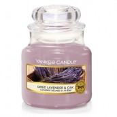 Yankee Candle Dried Lavender & Oak Geurkaars Small Jar Candle