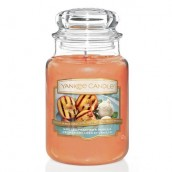 Yankee Candle Grilled Peaches & Vanilla Geurkaars Large Jar Candle