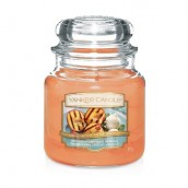 Yankee Candle Grilled Peaches & Vanilla Geurkaars Medium Jar Candle