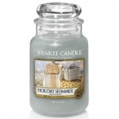Yankee Candle Holiday Shimmer Geurkaars Large Jar Candle (150 branduren)