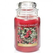 Yankee Candle Hollyberry Geurkaars Large Jar Candle (150 branduren)