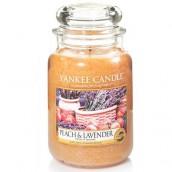 Yankee Candle Peach & Lavender Lrage Jar
