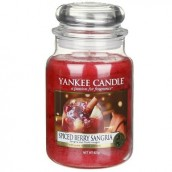 Yankee Candle Spiced Berry Sangria large Jar