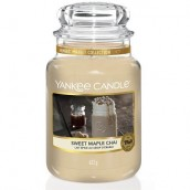Yankee Candle Sweet Maple Chai Geurkaars Large Jar Candle